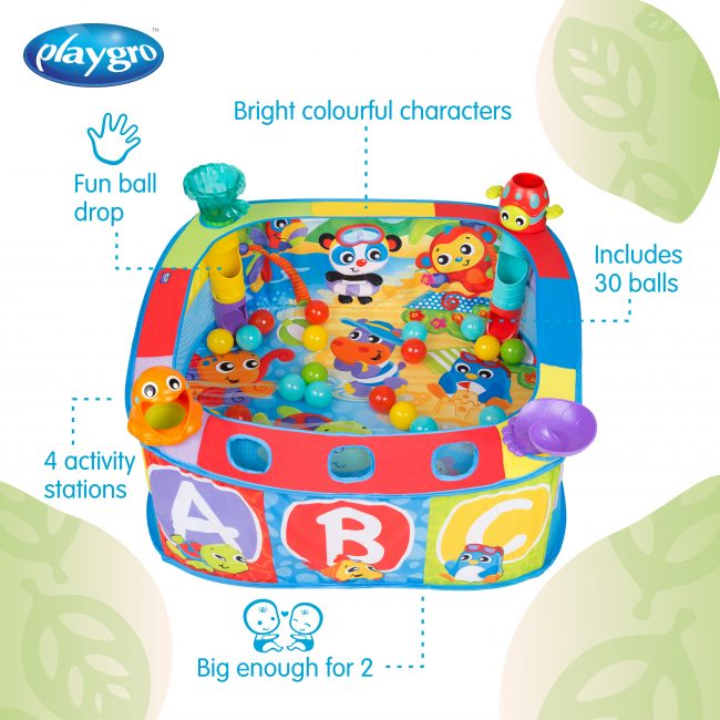 0186366 Pop And Drop Activity Ball Pit
