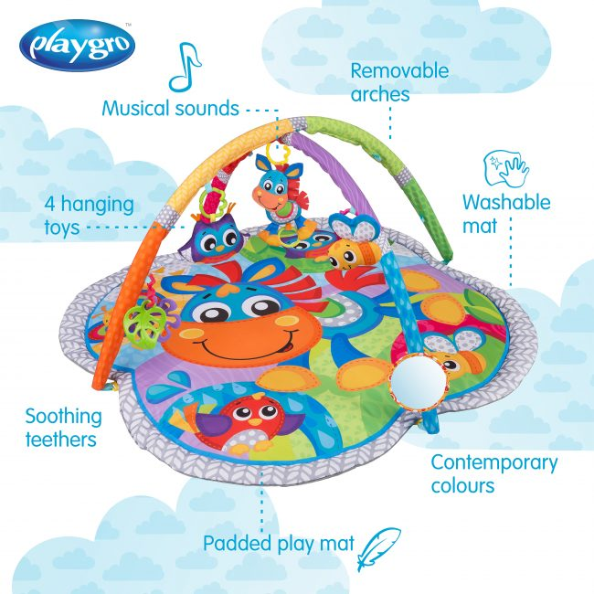 0186991 Clip Clop Activity Gym with Music
