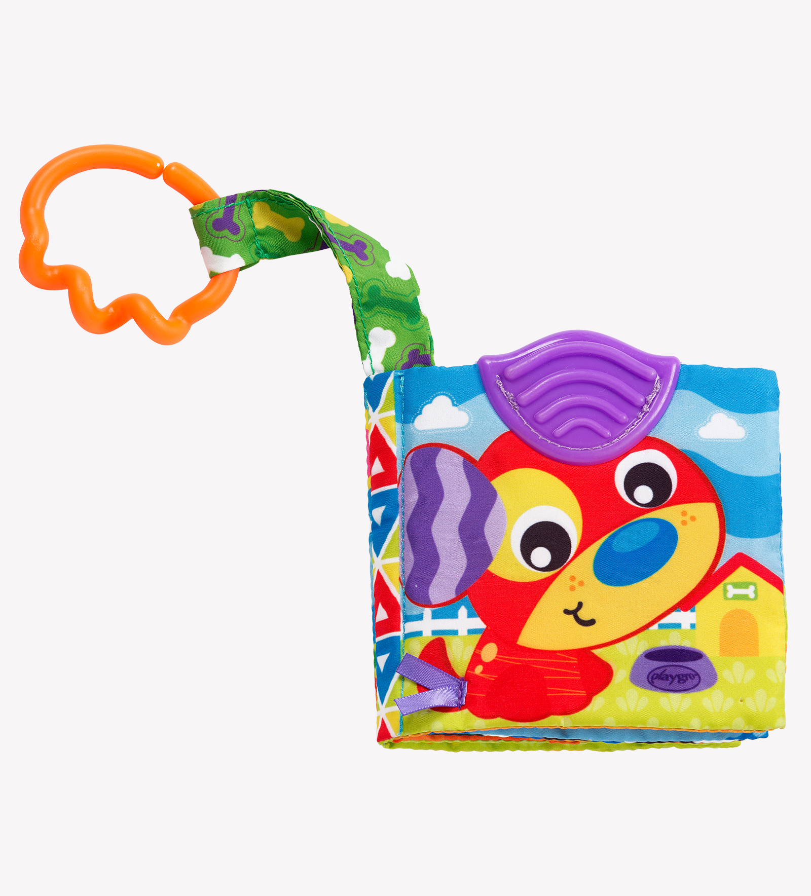 A Day At The Farm Teether Book Playgro International Us Baby 3m Home Story Time