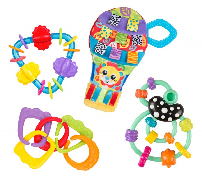 0187220 Up and Away Teething Gift Pack 5